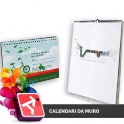 Calendario 33x33 Patinata 150gr - 6 fogli - Colori solo Fronte
