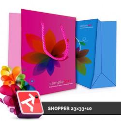 Shopper 23x33+10, UM170gr