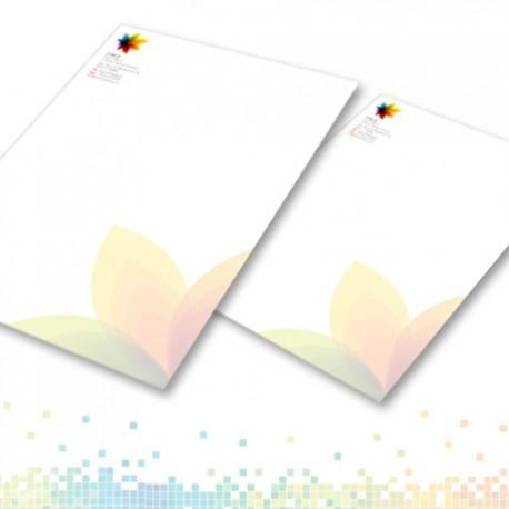 Promo 2000 fogli carta intestata