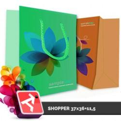 Shopper 37x36+11,5, TINT140gr